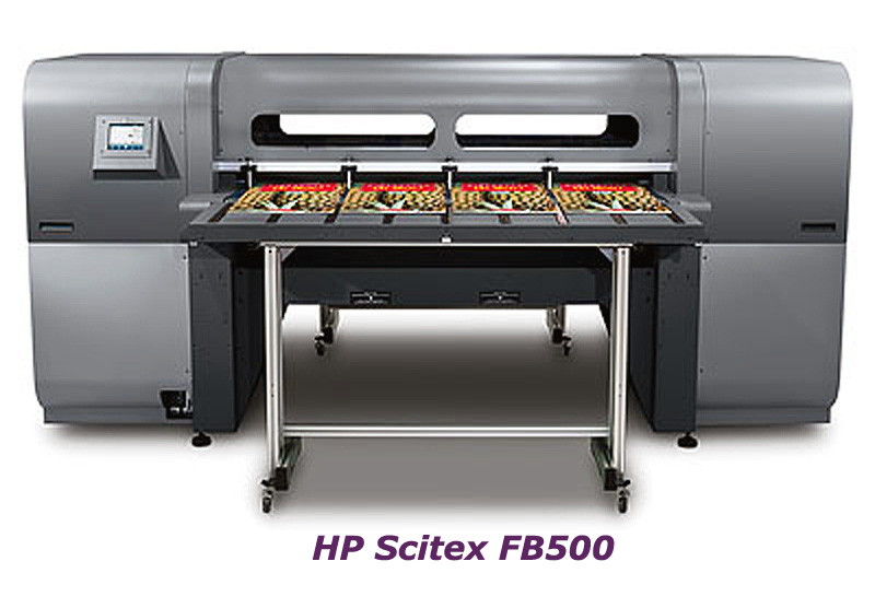 HP Scitex FB500 Printer Service